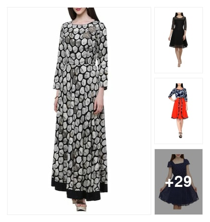 Trendy Dresses. Online shopping look by sravana