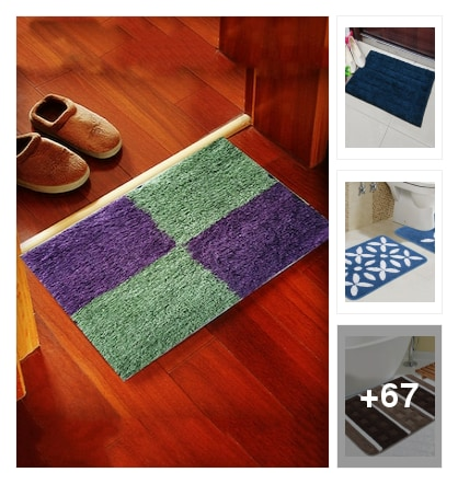 Bath Mats. Online shopping look by Abhinav