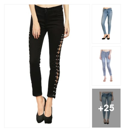 Perfect Jeans for girls. Online shopping look by sravana