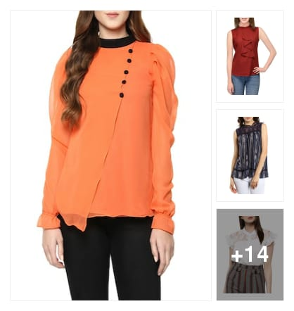 Stylish tops. Online shopping look by nikku.gupta512