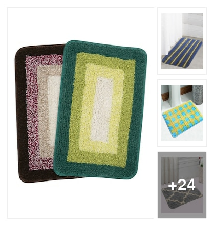 Anti skid bathmats. Online shopping look by rao