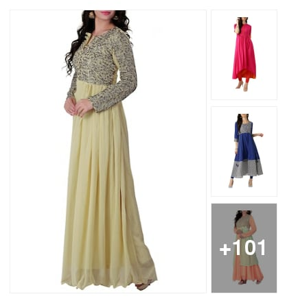 Very Gorgeous Festive Kurtas Collection Below 1099... Online shopping look by kavita