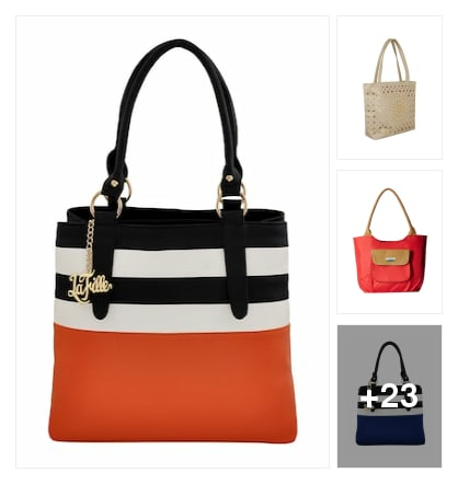 Handbags. Online shopping look by Teju