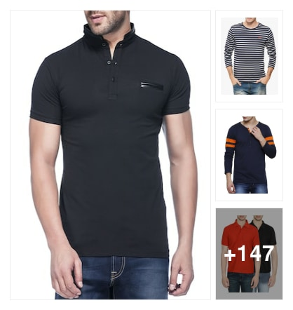 Mens t shirts. Online shopping look by sreya