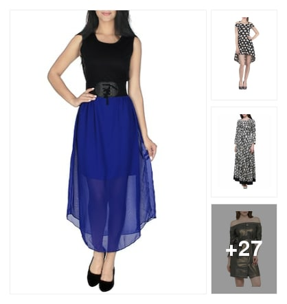 Grand look dresses. Online shopping look by sujatha