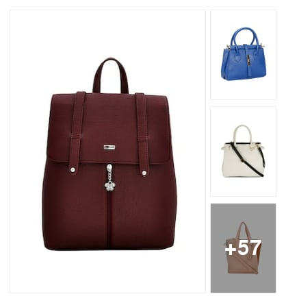Stylish  Bags collotions. Online shopping look by Surendra