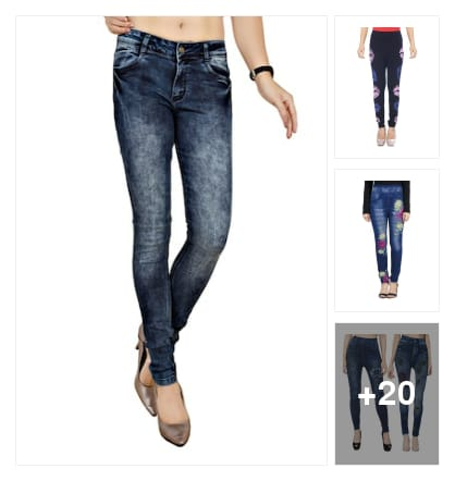 jeans. Online shopping look by ra