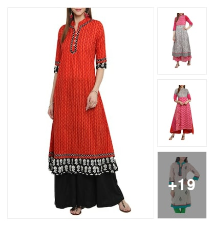 cotton kurtis. Online shopping look by janshi