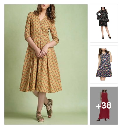superior dresses. Online shopping look by Joyful