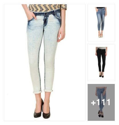 Jeans Collotions For Women. Online shopping look by Surendra