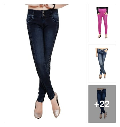 BEST JEANS. Online shopping look by Tejaswi