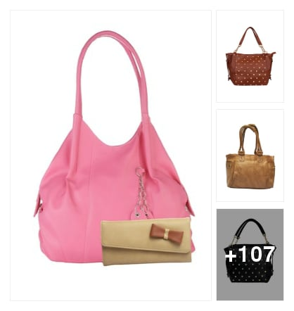 Handbags _ discover the new style. Online shopping look by max