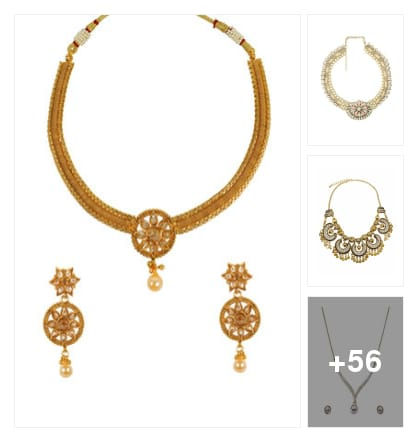 NECKPIECES. Online shopping look by raghava