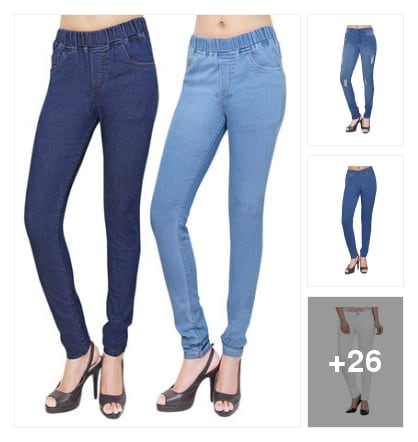 JEANS& JEGGINGS. Online shopping look by vihaan