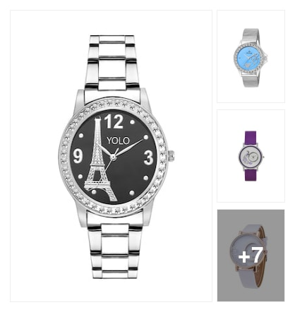 Watch the watch. Online shopping look by Rajni