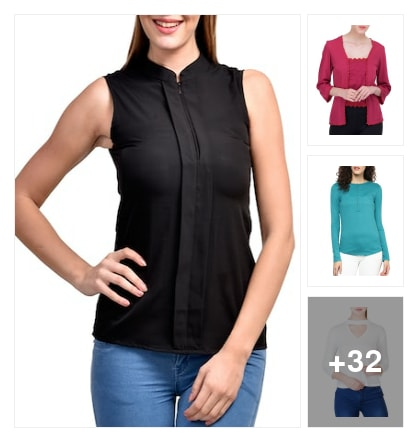 #trendy tops. Online shopping look by Kriti