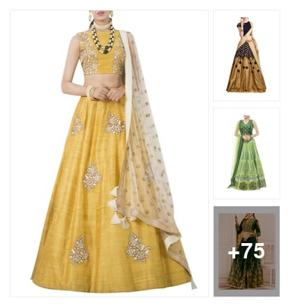 Stylish lehenga. Online shopping look by jyoti
