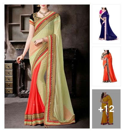 Light weight saree hurry up!!!. Online shopping look by kinki