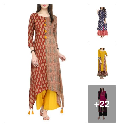 Beautiful ethnic wear. Online shopping look by Nilu