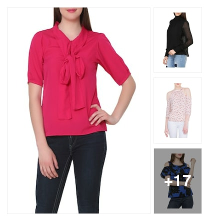 Stylish tops. Online shopping look by Nilu