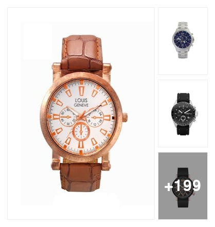 Bestselling chronograph watches.Shop this exclusive collection  . Online shopping look by c.abhijit468