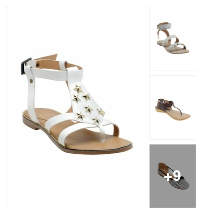 Ladies sandals. Online shopping look by Sheetal