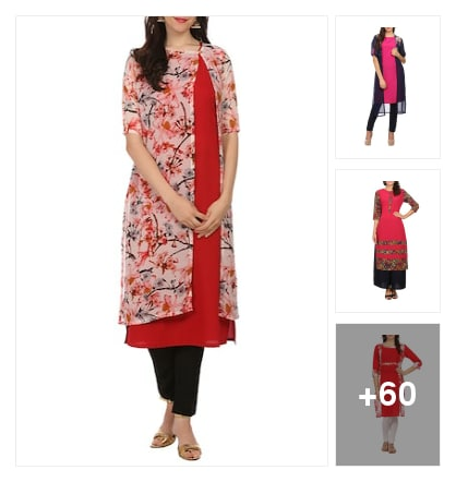 Floral Murtha for good looking. Online shopping look by santhi
