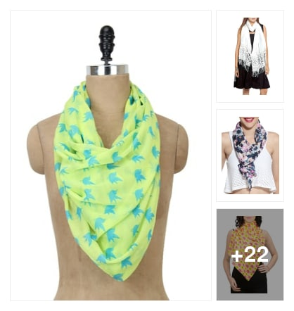 SUPERB  SCARVES  FOR  YOU. Online shopping look by buddy