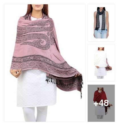 SHAWLS. Online shopping look by Abhinav