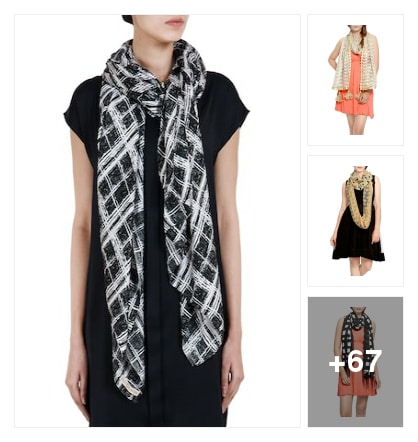 STOLES. Online shopping look by Abhinav