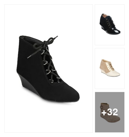 Buy any Attractive boots for less than 500. Online shopping look by Pankh
