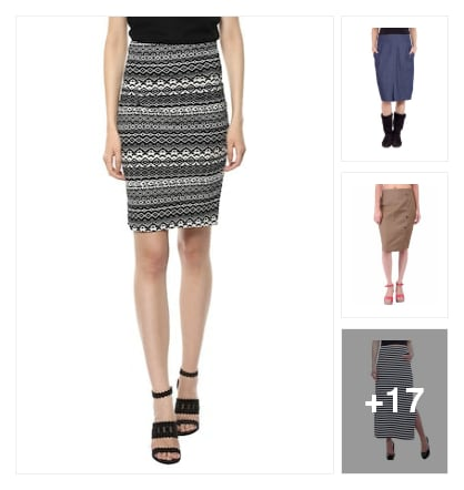 Skirts. Online shopping look by Linette