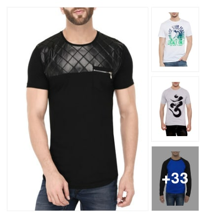 TSHIRTS . Online shopping look by sunil