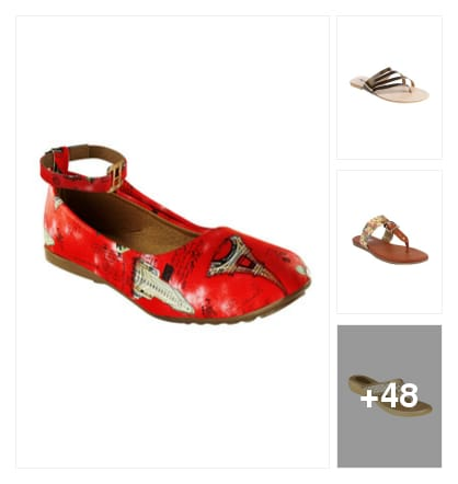 FLATS. Online shopping look by sunitha