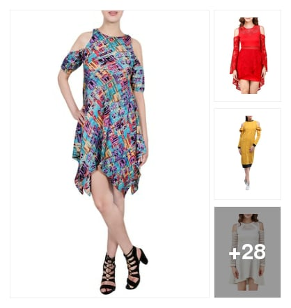 Gorgeous dresses to match your style. Online shopping look by Chandan