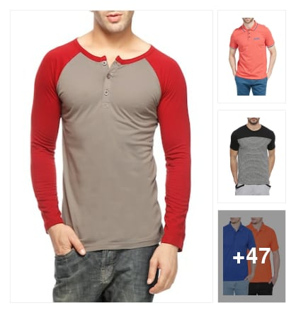 Nice Looking T Shirts. Online shopping look by $ Sai Prudhvi $