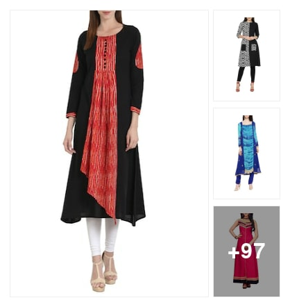 Exclusive A-line collection pick by LR Stylist. Online shopping look by Priyanka