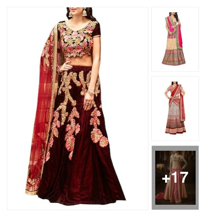 Lehenga collection . Online shopping look by Ramaprasad