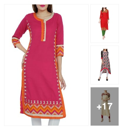 Kurtas&kurtis. Online shopping look by Raji