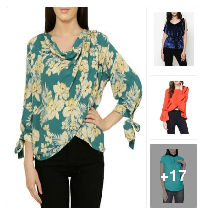 #layered Tops. Online shopping look by sadhana