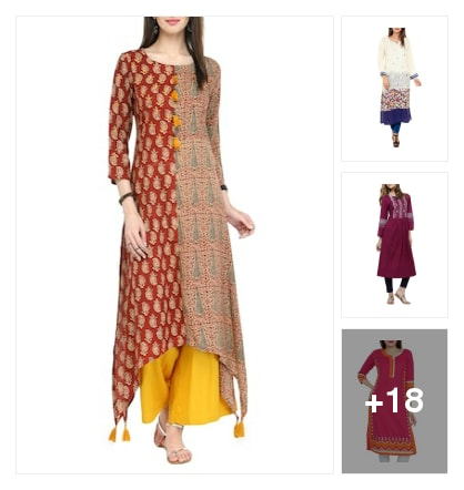 Best of both worlds -east and west. Online shopping look by Harika