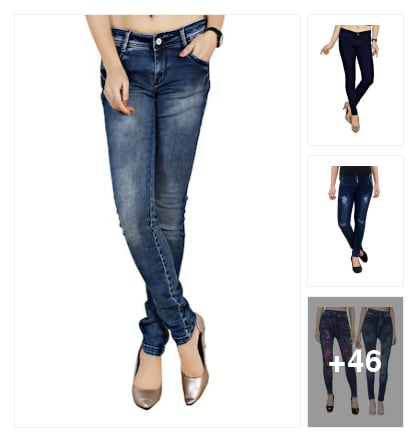 jeans&jeggings. Online shopping look by dana