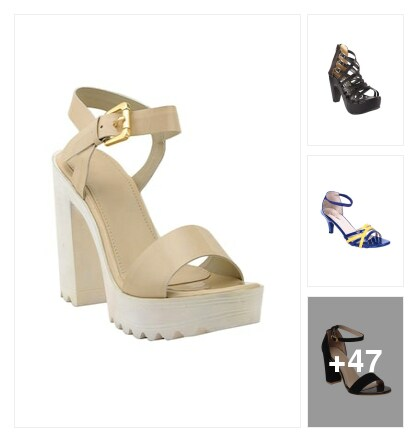 Heels for women. Online shopping look by vihaan