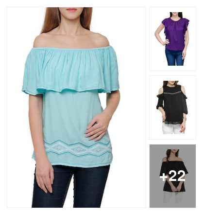 Tops. Online shopping look by Sailaja