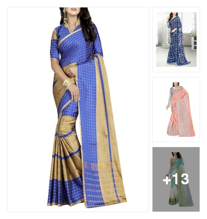 sarees. Online shopping look by sambha