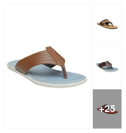 Slippers for men. Online shopping look by keerthi
