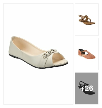 flats. Online shopping look by sambha