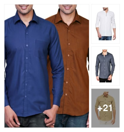 Shirts for men. Online shopping look by sujatha