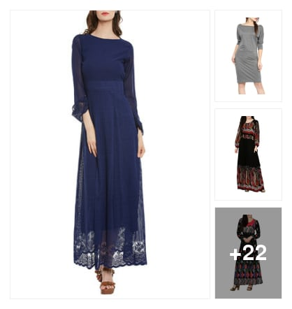 Dresses. Online shopping look by BinduGupta