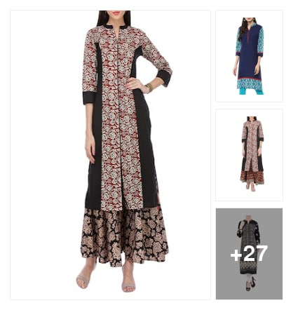 Under 499 kurtas. Online shopping look by Teju